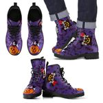 Mickey Halloween Leather Boots 4