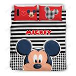 Mickey head Bedding Set