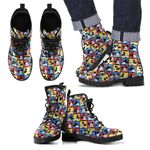 Mickey Leather Boots 3