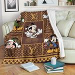 Mickey Louis Vuitton Blanket