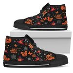 Mickey Pumpkin High Top Shoes 3