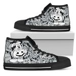 Mickey Pumpkin High Top Shoes 4