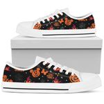 Mickey Pumpkin Low Top Shoes 4