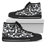 Mickey Skull High Top Shoes 2