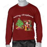 Minnie Christmas Men's Sweater 1