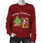 Minnie Christmas Sweater 1