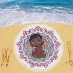 Moana Disney Beach Blanket 1