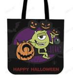 Monster Inc Happy Halloween Tote Bag