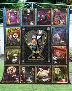 Nightmare Before Christmas Fabric Quilt