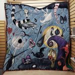Nightmare Before Christmas Kingdom Fabric Quilt