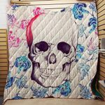 ONE OF A KIND SKULL FABRIC QUILT