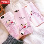 Pink Panther Phone Case For iPhone