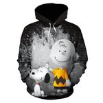 Snoopy and Charlie Brown Hoodie