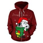 Snoopy Christmas Hoodie Zip-Up 1