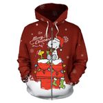 Snoopy Christmas Zip-Up Hoodie 2