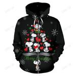 Snoopy Christmas Zip-Up Hoodie 3