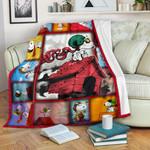 Snoopy Flying 3D Blanket