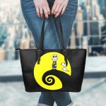 Snoopy Halloween Leather Tote Bag 1