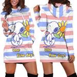 Snoopy Hoodie Dress 3