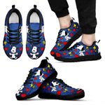 Snoopy Pattern Sneakers