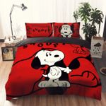Snoopy Red Bedding Set