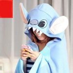 Stitch & Angel Hooded Blanket