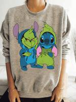 STITCH AND GRINCH Sweater