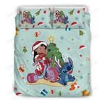 Stitch Christmas Bedding Set 5