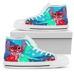 Stitch Christmas High Top Shoes