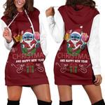 Stitch Christmas Hoodie Dress 1