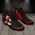 Mickey Fashion Zipper Boots 011