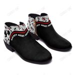 Mickey Fashion Zipper Boots 003