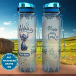 Stitch Personalized Water Bottle 02