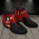 Mickey Fashion Zipper Boots 008