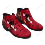 Mickey Fashion Zipper Boots 007