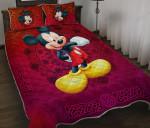 Mickey Quilt Set 005