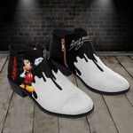 Mickey Fashion Zipper Boots 012