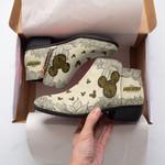 Mickey Fashion Zipper Boots 001