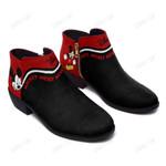 Mickey Fashion Zipper Boots 004