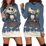 Dream Jack Skellington Hoodie Dress 001