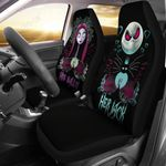 His Sally & Her Jack The Nightmare Before Christmas Car Seat Covers Fan Gift