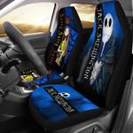 2pcs Jack Skellington & Sally Car Seat Cover