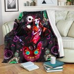 Jack Skellington & Sally Premium Blanket 74