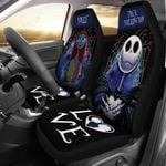 Jack Skellington & Sally Car Seat Cover - LOVE