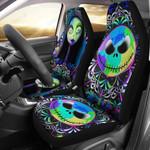 Jack Skellington & Sally Car Seat Cover 75