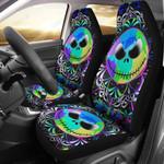 Color Jack Skellington Car Seat Cover 75