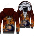 3D All Over Printed Jack Skellington Clothes - Fire Jack