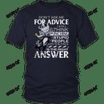 Don't Ask Me For Advice - Jack Skellington Shirt