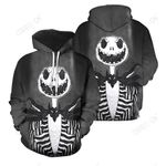 3D All Over Printed Jack Skellington Clothes 14