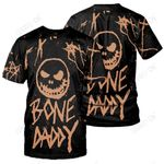 3D All Over Printed Jack Skellington Clothes - Bone Daddy